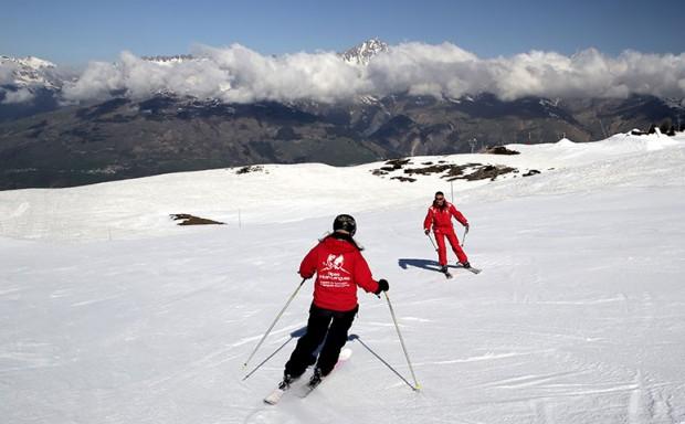 moniteur de ski esf