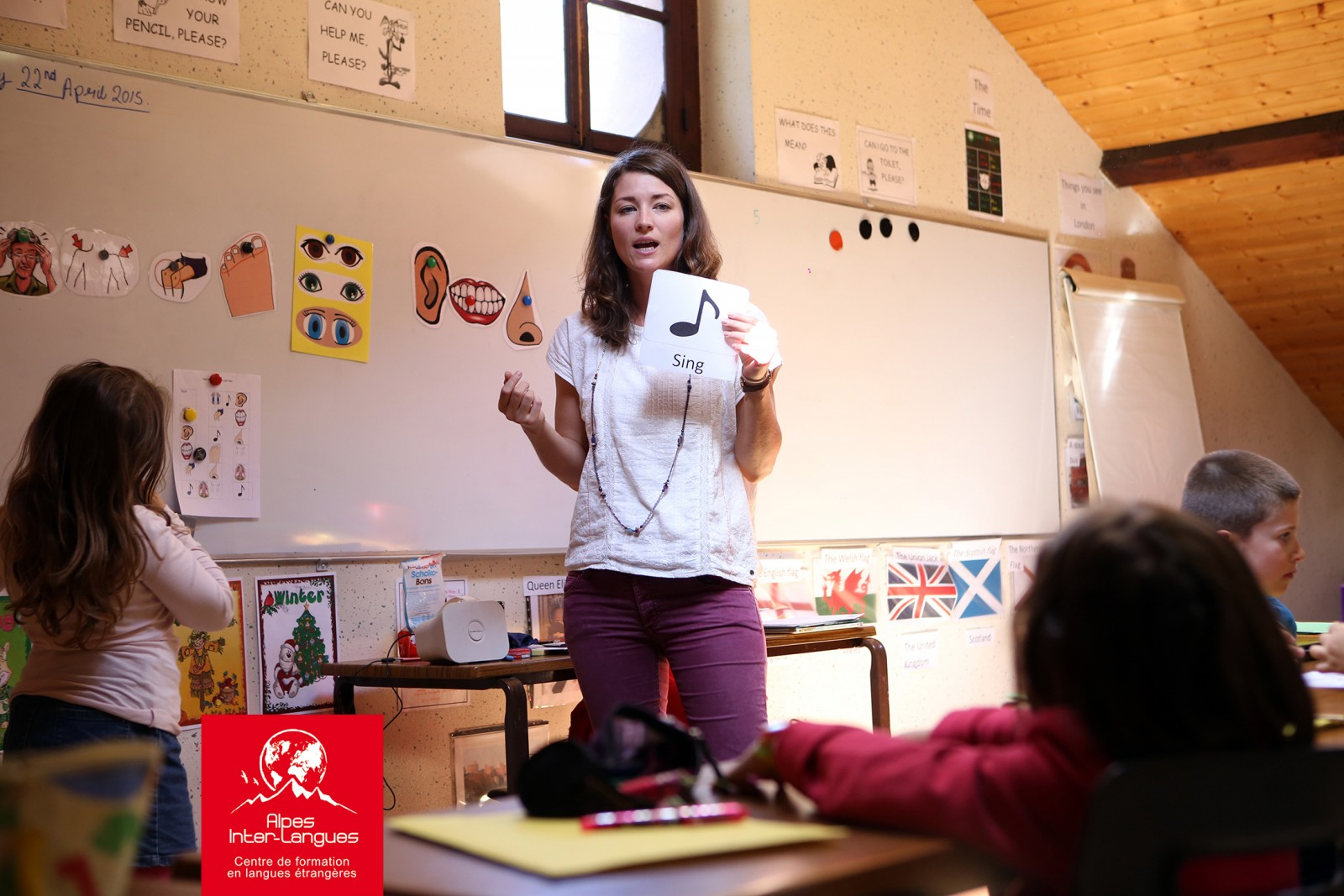 Cours d'anglais pour les enfants